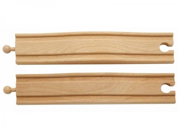 2 bump wooden tracks