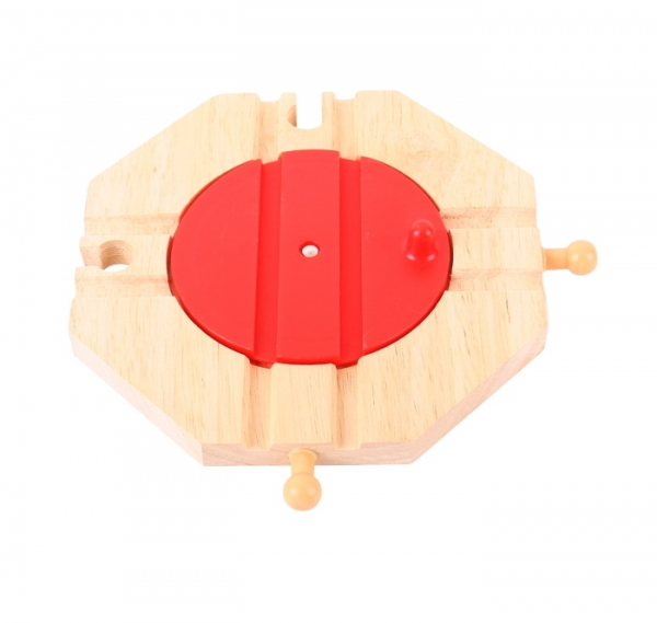 4 way wooden turn table