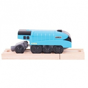 battery operated mallard engine train