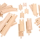 curves and straights wooden track expansion pack