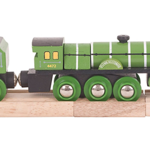 flying scotsman wooden train