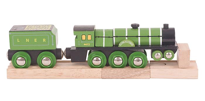Flying Scotsman Wooden Train