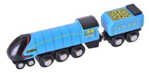 mallard wooden train
