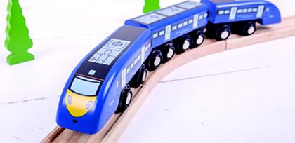 trains banner