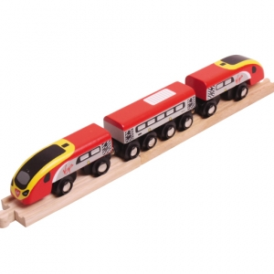 virgin pendolino wooden train