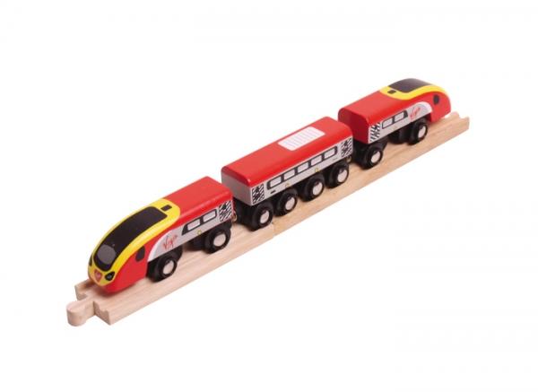 virgin pendolino wooden train