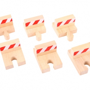 wooden buffer set