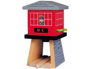 wooden signal tower