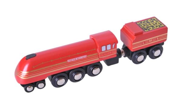 duchess of hamilton wooden train