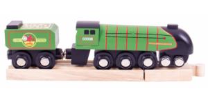 eisenhower wooden train