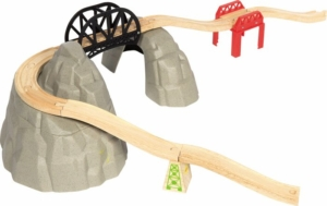 12 piece rocky mountain wooden track expansion pack