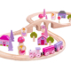 fairy figure of eight wooden train set