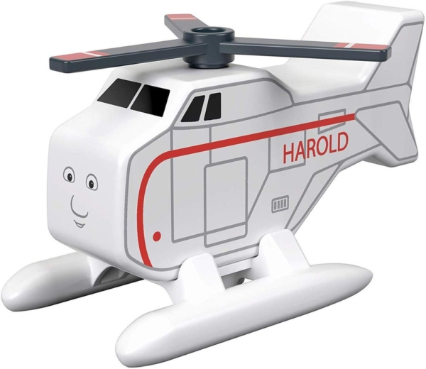 thomas and friends harold wooden helicopter