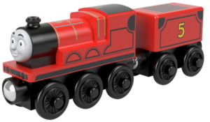 thomas and friends james wooden train