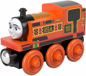 thomas and friends nia wooden train