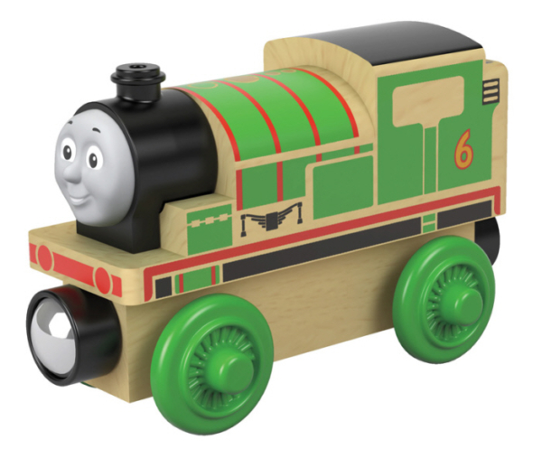 thomas and friends percy wooden train
