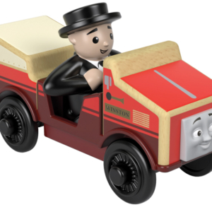 thomas and friends winston wooden track inspection car