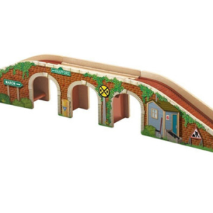 thomas and friends wooden transforming track bridge