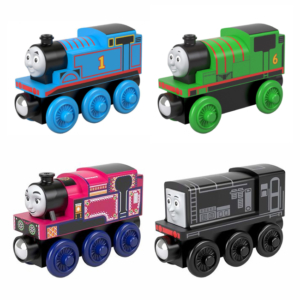 New fully painted (2019) Thomas & Friends™ Wood trains