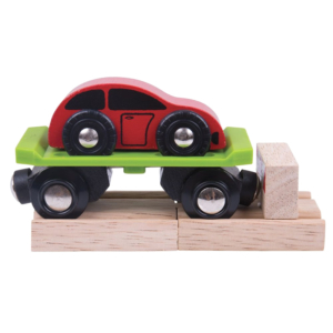 car wooden train wagon