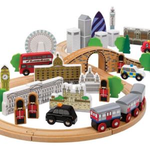 city of london wooden train set