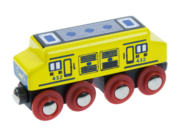 diesel wooden train