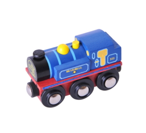 bluebell engine wooden train