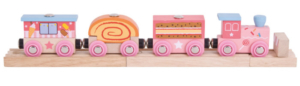 sweetland express wooden train