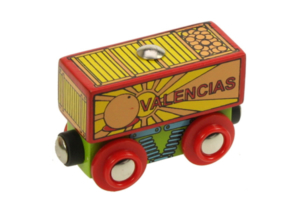 valencias wooden train wagon