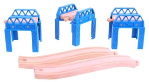 wooden construction support set