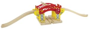 wooden lifting bridge
