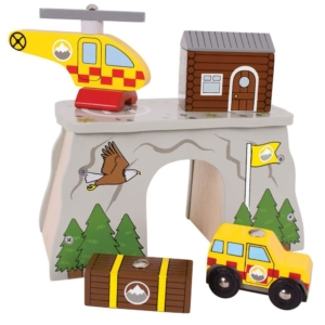 wooden mountain rescue