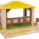 wooden safari outpost