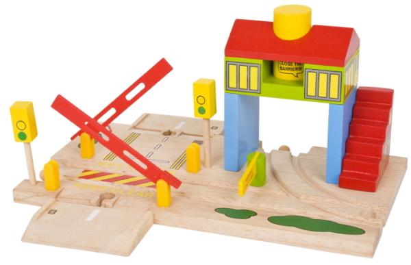 woodensignalboxandlevelcrossing